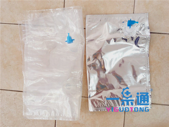 Fruit Liquid Flexible High Barrier Aseptic Bags For Pineapple Juice